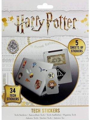 Harry Potter Artefacts Stickers Set van 34