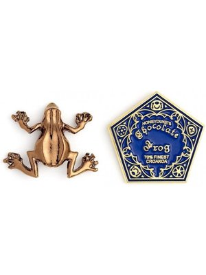Harry Potter Chocolate Frog Pin Badge Wizarding World