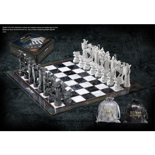 The Noble Collection Harry Potter Wizard Chess Set Noble Collection