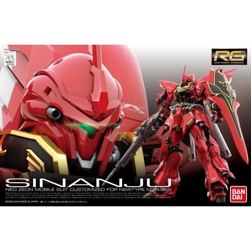 Bandai Gundam RG MSN-06S Sinanju Model Kit 17cm 22