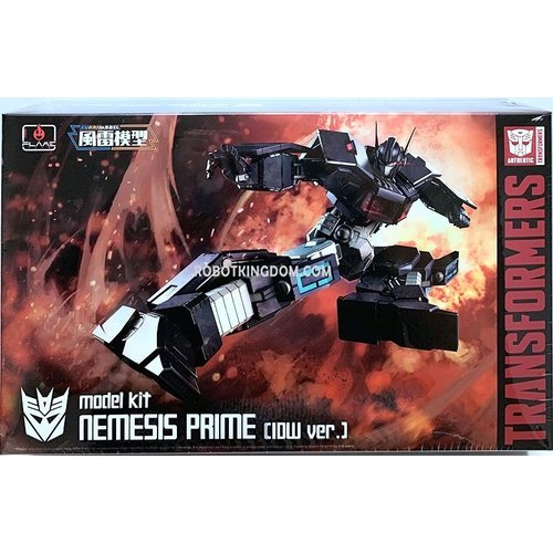 Transformers Furai Model Nemesis Prime IDW Autobot Version Model Kit
