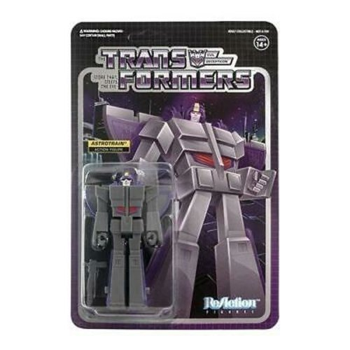 Super7 Transformers Astrotrain ReAction 3.75 inch Figure Super7