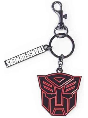 Transformers Autobots Face Metal Keychain Hasbro