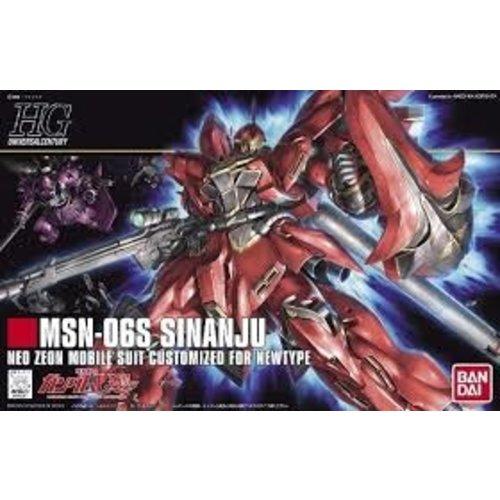 Bandai Gundam HGUC 1/144 Sinanju Model Kit 13cm 116
