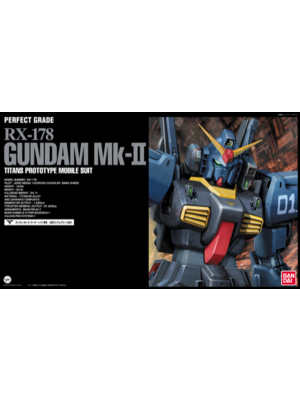 Bandai Gundam PG Titans Black RX-178 MK II 1/60 Model Kit
