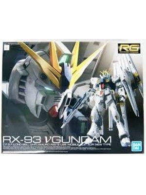 Bandai Gundam RG 1/144 v Gundam RX-93 v Gundam Model Kit 13cm