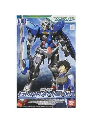Bandai Gundam 1/100 Gundam Exia Model Kit