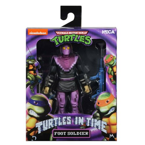 NECA TMNT Foot Soldier Turtles in Time 18cm NECA