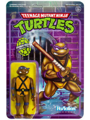 Super7 TMNT Donatello ReAction 3.75 inch Figure Super7