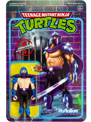 Super7 TMNT Shredder ReAction 3.75 inch Figure Super7