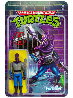 Super7 TMNT Foot Soldier ReAction 3.75 inch Figure Super7