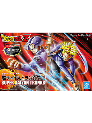 Bandai Dragon Ball Super Saiyan Trunks Figure Rise Standard Model Kit