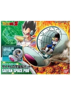 Bandai Dragon Ball Mechanics Sayan Space Pod Model Kit