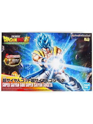 Bandai Dragon Ball Super Saiyan God Super Saiyan Gogeta Model Kit