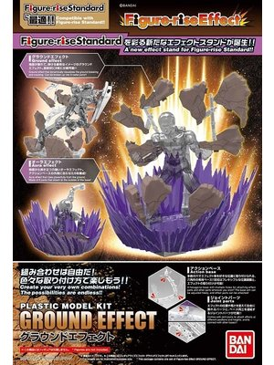 Bandai Dragon Ball Model Kit Effect Ground Effect