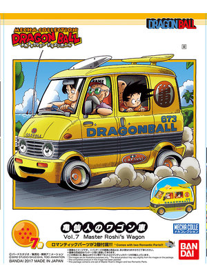 Bandai Dragon Ball Mecha Collection 07 Master Roshi's Wagon Model Kit