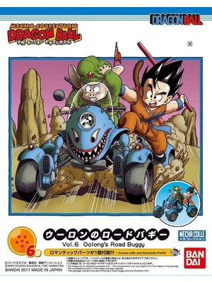 Bandai Dragon Ball Mecha Collection 06 Oolong's Road Buggy Model Kit