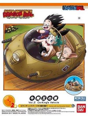 Bandai Dragon Ball Mecha Collection 02 Ox-King's Vehicle Model Kit