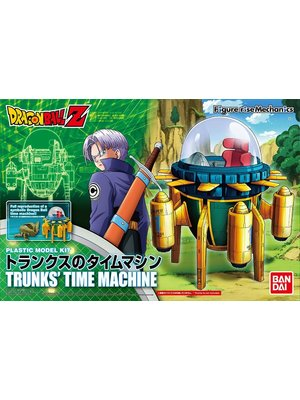 Bandai Dragon Ball Trunks Time Machine Model Kit