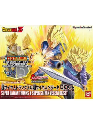 Bandai Dragon Ball Super Saiyan Vegeta & Trunks SX Set Model Kit