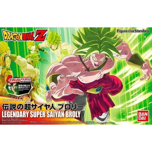 Bandai Dragon Ball Super Saiyan Broly Model Kit