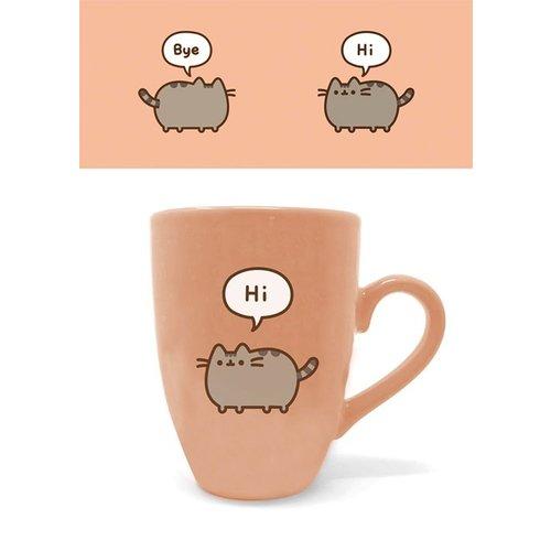 Pusheen Says Hi Bye Latte Mug 284ml