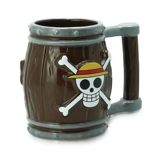 One Piece Barrel 3D Mug