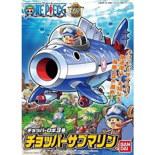 Bandai One Piece Chopper Robo Submarien Model Kit 10cm