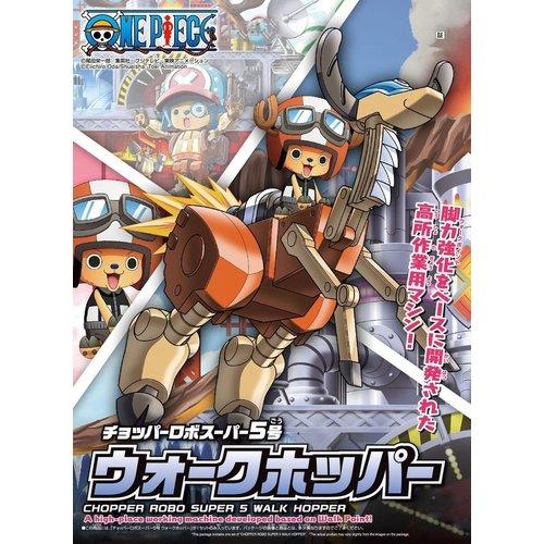 Bandai One Piece Chopper Robo Super 5 Walk Hopper Model Kit 10cm