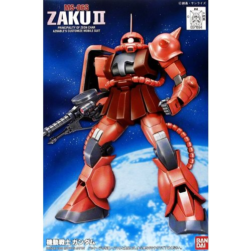 Bandai Gundam 1/144 FG Gundam Zaku II Model Kit