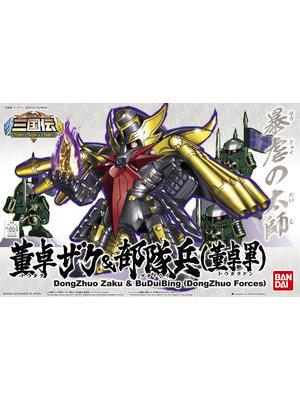 Bandai Gundam BB Senshi Sanogkuden DongZhuo Zaka & BuDuiBing Model Kit 407