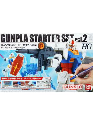 Bandai Gundam HG 1/144 Gunpla Starter Set Vol.2 Model Kit