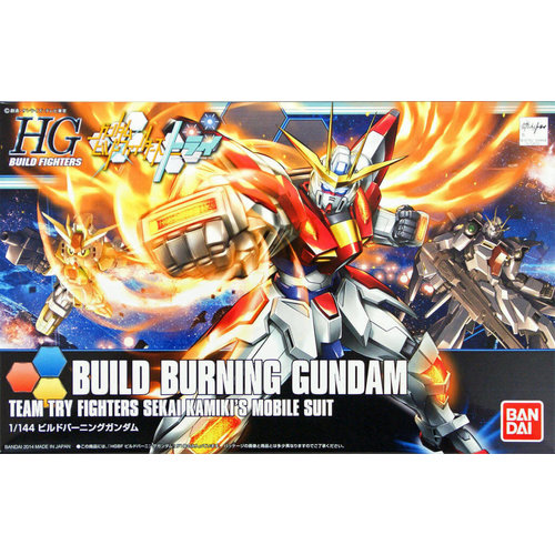 Bandai Gundam HGBF 1/144 Build Burning Sekai Kamiki's Model Kit 018