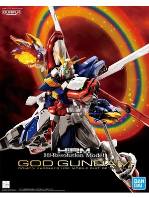 Bandai Gundam Hi-Resolution Model 1/100 GOD Model Kit 30cm