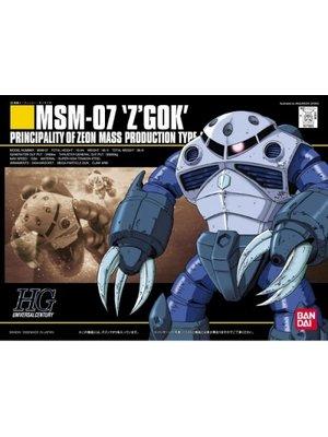 Bandai Gundam HGUC 1/144 MSM-07 Z'Gok Zeon Mass Production Model Kit 006