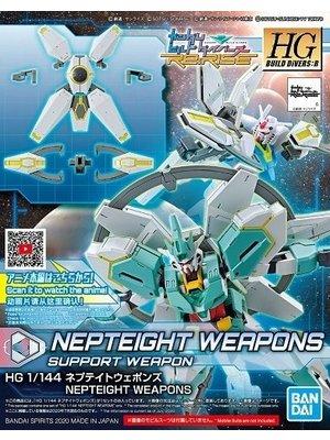 Bandai Gundam HGBD:R 1/144 Nepteight Weapons Support Weapon Model Kit