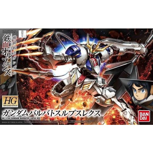 Bandai Gundam HG 1/144 IBO Iron BLooded Orphans MSG Barbatos Lupus Rex Model Kit