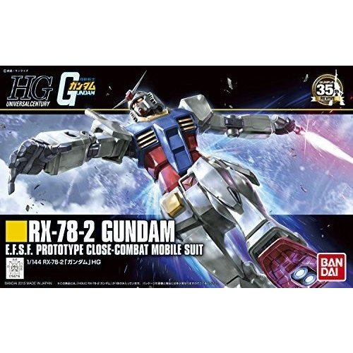 Bandai Gundam HG 1/144 RX-78-2 Gundam Model Kit 13cm 191