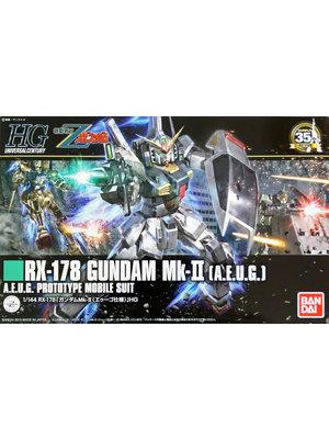 Bandai Gundam HGUC 1/144 RX-178 Gundam MK-II AEUG Model Kit 13cm 193