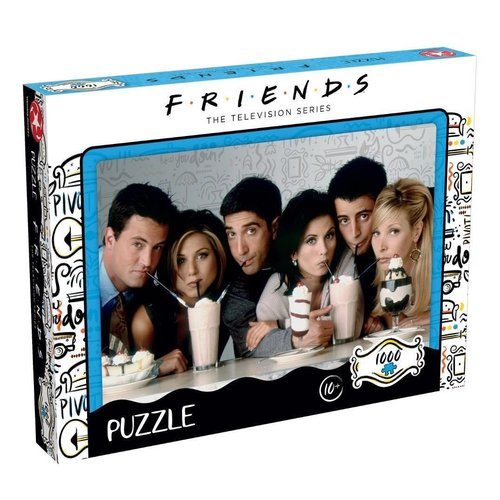 Friends Milkshake Puzzle 1000 pcs