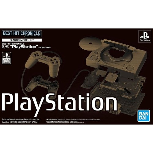 Bandai Sony Best Hit Chronicle Playstation (SCPH-1000) Model Kit