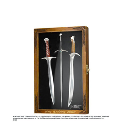 The Noble Collection The Hobbit Letter Opener Set Noble Collection