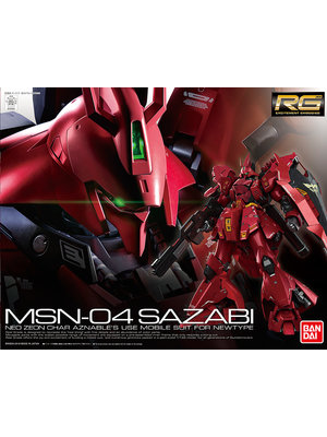 Bandai Gundam RG 1/144 MSN-04 SAZABI Model Kit