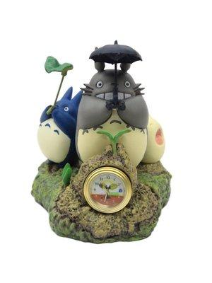 Ghibli My Neighbor Totoro Table Clock Dondoko Dance 10cm