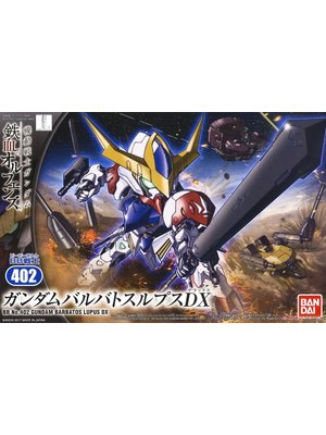 Bandai Gundam IBO BB402 Gundam Barbatos Lupus DX Model Kit 8cm 402