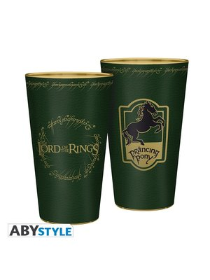 Lord of the Rings Prancing Pony Large Glass 400ml