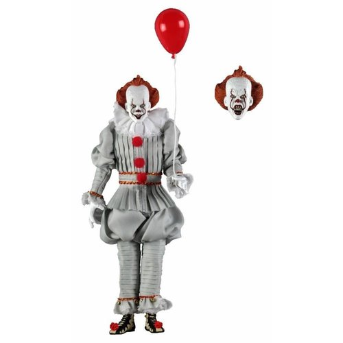 NECA Neca IT Pennywise 8 inch Scale Clothed  Action Figure