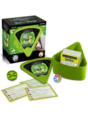 Rick and Morty Trivial Pursuit Engels Hasbro Gaming