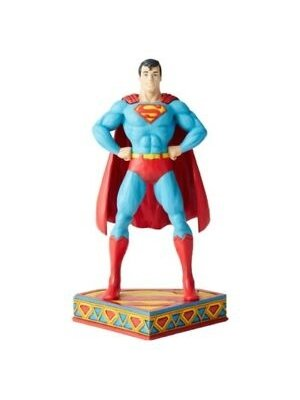 DC by Jim Shore Man of Steel (Superman Silver Age Figurine)