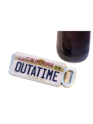 Back to the Future Outatime Magnetic Bottle Opener